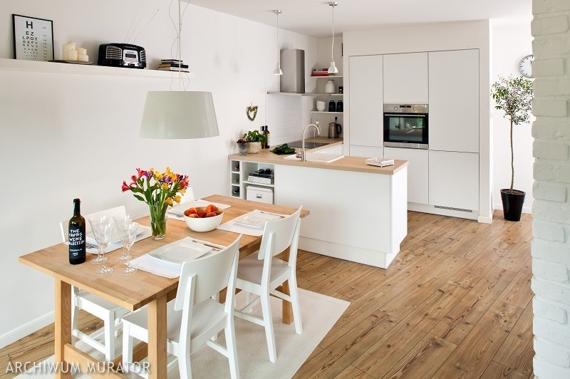Galeria artykułu Kuchnia otwarta na salon Plusy i   -> Funkcjonalna Kuchnia Z Salonem