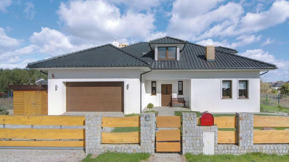 Komplet - drzwi wejściowe i brama garażowa