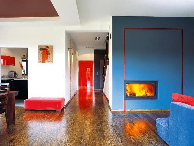 Łączenie kolorów ścian i podłogi