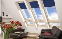Wybieramy rolety do okien dachowych, żaluzje, markizy i plisy. Osłony wewnętrzne i zewnętrzne okien dachowych.