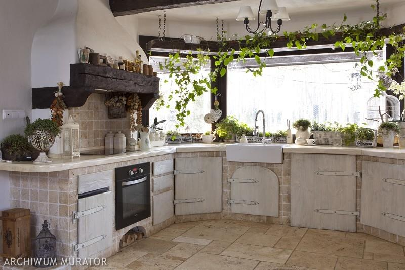 Galeria zdjęć  Zdjęcia kuchni rustykalnych meble i