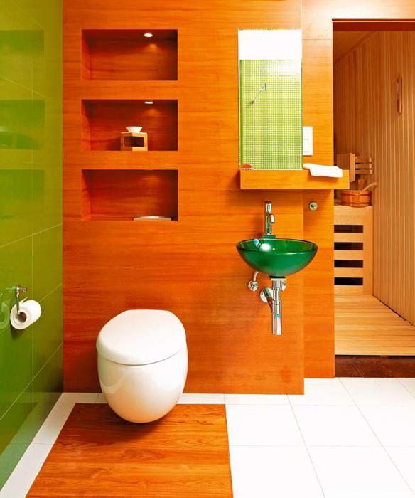 galeria zdj ciana z oklein drewnian pomys na przytuln azienk zdj cie nr 1. Black Bedroom Furniture Sets. Home Design Ideas
