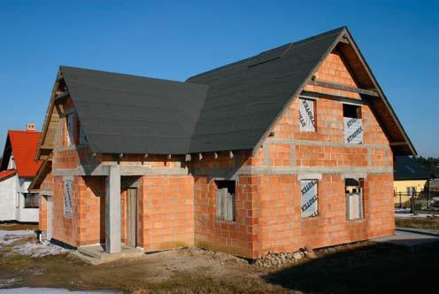 Zabezpiecznie domu w stanie surowym otwartym