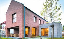 Tradycyjne i nowoczesne domy z cegły. Elewacje z cegły klinkierowej, zwykłej i silikatowej