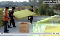 FILM: Dom pasywny - jak wykonać ocieplenie dachu płaskego