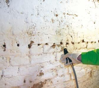 Nawiercenie i oczyszczenie otworów