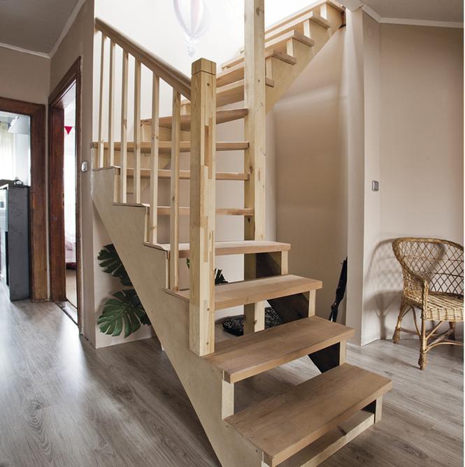Balkon W Domu Jednorodzinnym: Schody Drewniane: Rodzaje, Budowa I Montaż Schodów
