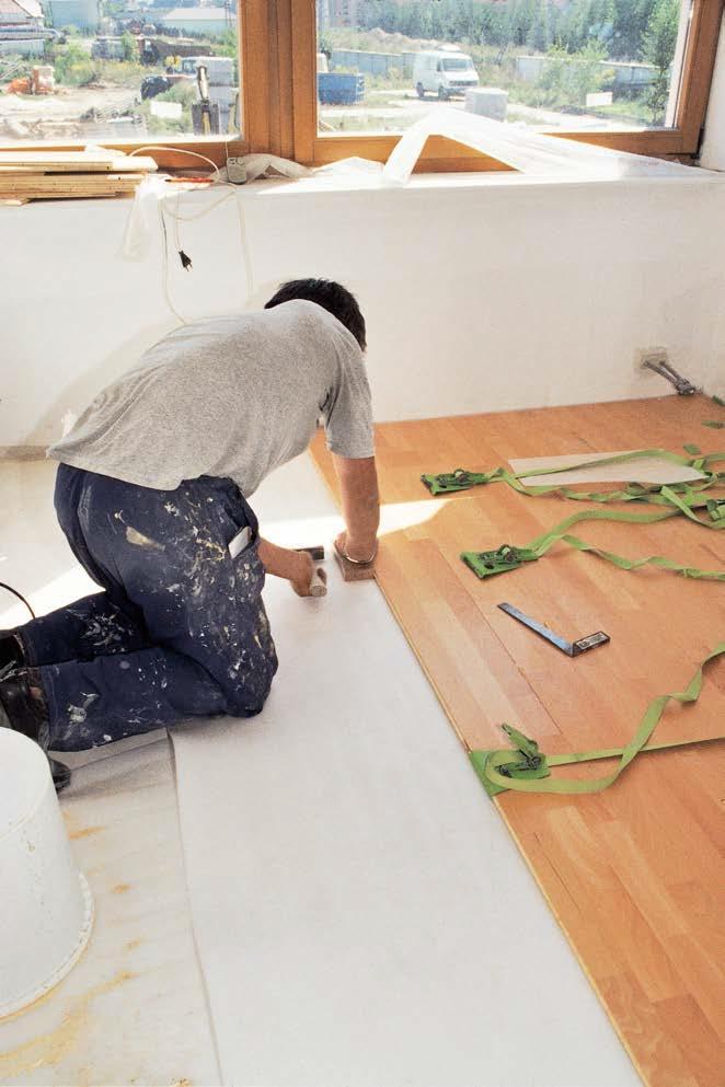 Wyciszenie paneli podłogowych