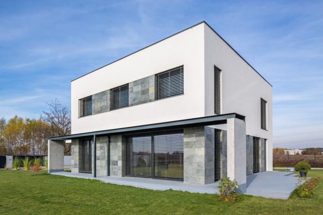 Dom pasywny z oknami Schüco Alu Inside