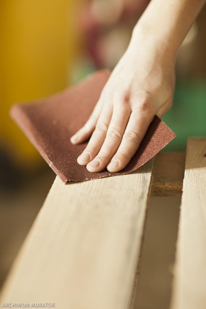 Szlifowanie drewna